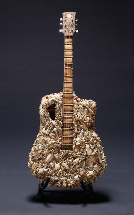 The Bone Guitar(front) by Mahalski/Goldbeard